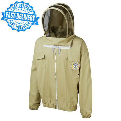 Bee Proof Suits Keeper's Jacket with Throw Back Hood Astronaut Style...