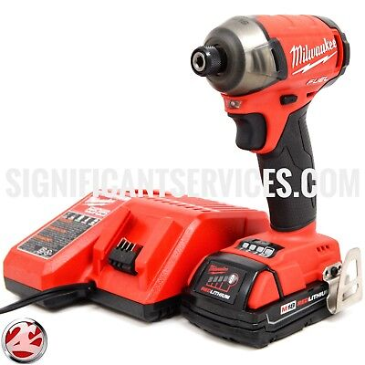 MILWAUKEE 2760-20 M18 18V FUEL SURGE 1/4 In. Hex Hydraulic Impact Driver Kit