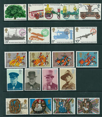 GB 1974 Complete Commemorative Year Set (6 sets) in Superb Unmounted Mint