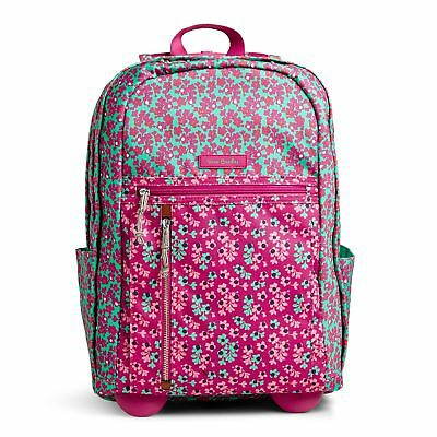 cad8d071c4db VERA BRADLEY LIGHTEN Up Rolling Backpack in Rumba -  76.99