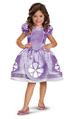 Disney Sofia The First Classic Girls Princess Costume