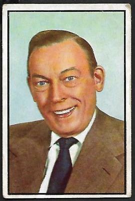 "1953 Bowman NBC TV & Radio Stars: #75 FRED ALLEN, ""JUDGE FOR YOURSELF"" SHOW"