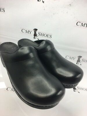 Dansko Karl Men's Clogs Black Size 47 ( 1264 ) New !!!