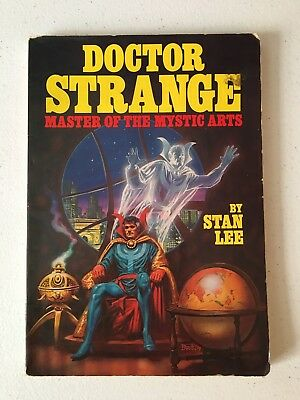 Doctor Strange Comic Tpb! Master Of The Mystic Arts! Stan Lee! 1979 Fireside!