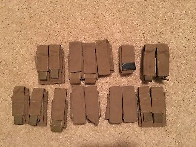 London Bridge Trading pistol mag pouch lot SOF NSW LBT-9039A Coyote Brown
