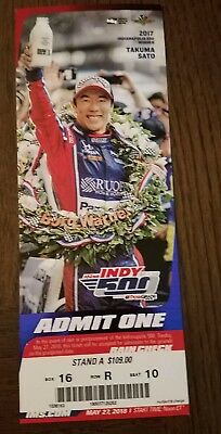 INDIANAPOLIS 500 1 Ticket Fantastic Seat!! Pit Action Next To Paddock Stand A