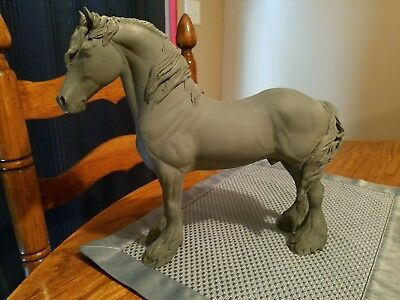 Peter Stone Custom Drafter model horse. FREE SHIPPING