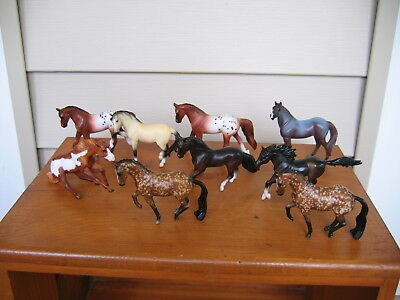 Breyer 2018 Stablemates lot mini Valegro appaloosa reiner Andalusian & more