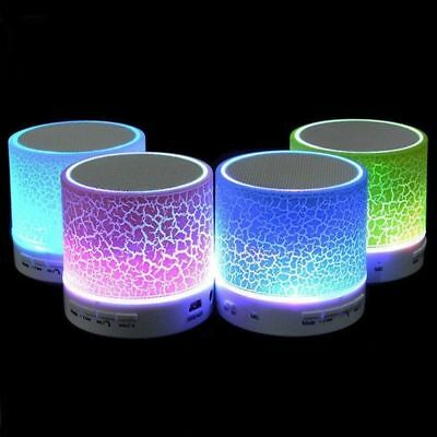 1 Pack LED Portable Mini Bluetooth Speaker Wireless Bass Speaker Canada