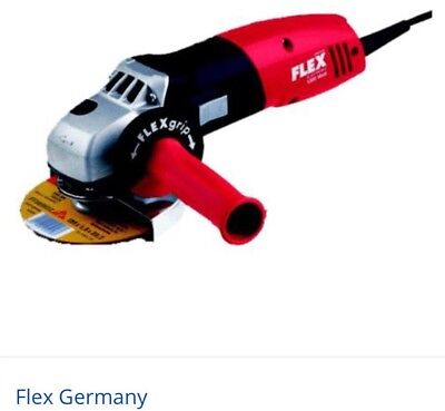 """$467 FLEX Germany Electric Angle Grinder 1400w Variable Speed - 5"""" 125mm L3410VR"""