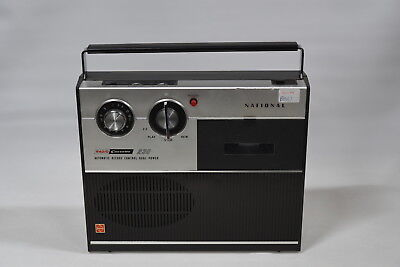 National Radio Cassette 230 Portable Cassette Tape Deck/Radio - Model RQ-230S