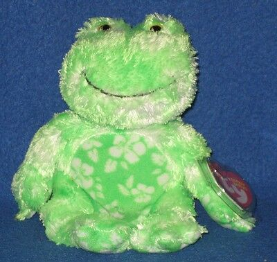 38e4352ad5a TY PALMS THE FROG BEANIE BABY - MINT with MINT TAGS -  6.95