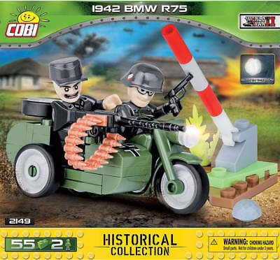 Cobi 2149 Small Army WW2 - BMW R75 - NEU / OVP