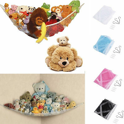 NEW Toy Soft Teddy Hammock Mesh Baby Childs Bedroom Tidy Storage Nursery Net