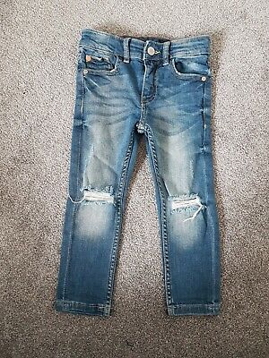 boy's next skinny jeans age 3 years worn once