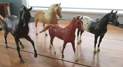 Lot of 4 Breyer Horses~Vintage Lot~Traditional/Classic/MORE!
