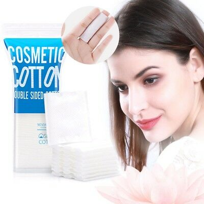 50Pcs Cosmetic Cotton Pad Lint Free Facial Eye Cleansing Makeup Remover New