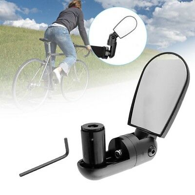 New Bike Mirror Mountain Bicycle Rearview Handlebar End Rear Back View UK