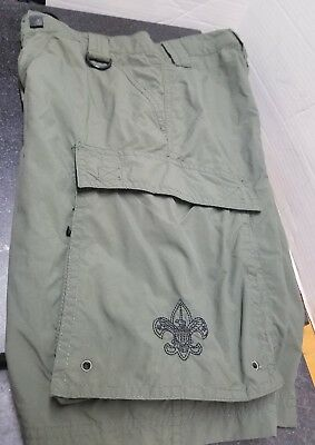 Boy Scout Centennial Uniform Land Water Mesh Liner Trunks Short  Youth Large BSA