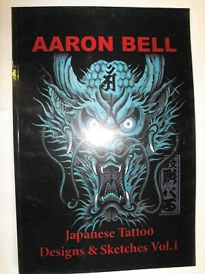 A3 tattoo flash book 60 pages of old school jap tattoo designs & sketches vol 1
