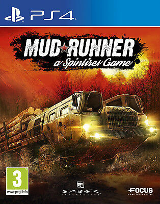 Spintires: MudRunner (PS4) BRAND NEW AND SEALED - QUICK DISPATCH - IMPORT