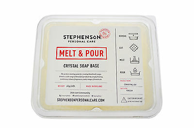Olive Oil Melt and Pour Soap Base 1kg-12kg Stephensons Cosmetic Making
