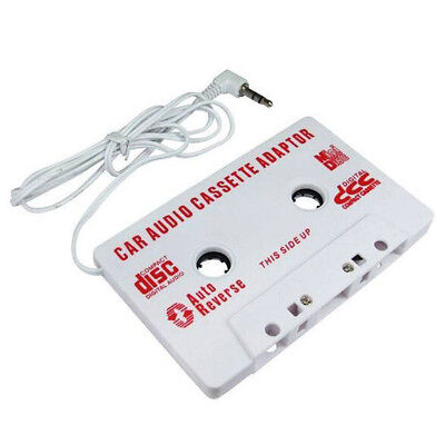 Car Audio Tape Cassette Adapter For iPod Mobile MP3 CD Radio 3.5mm Jack AUX HGUK