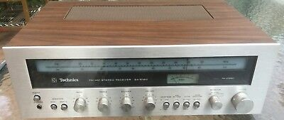 VINTAGE TECHNICS AM/FM STEREO INTEGRATED RECEIVER Model #SA-5160 *MINT CONDITION