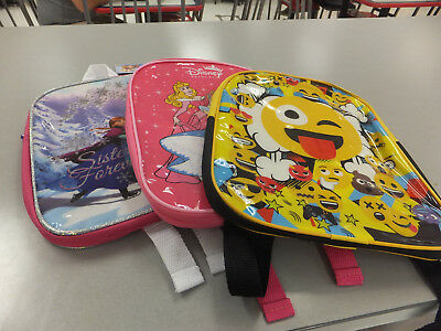 All New 3 X Kids Backpacks Licenced