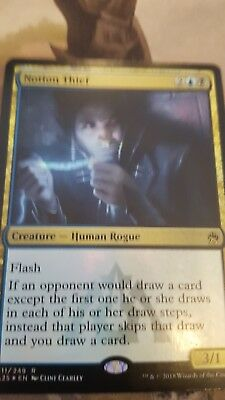 Carte Mtg Magic the Gathering :  Notion Thief premium  FOIL
