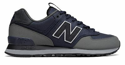 New Balance Men's 574 Outdoor Escape Shoes Navy with Grey