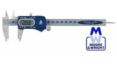 "MOORE AND WRIGHT 150MM/6"" DIGITRONIC DIGITAL VERNIER CALIPER 110-15DBL MItuyoyo"