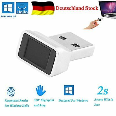 USB Smart ID Fingerabdruck Reader Scanner Security USB Key For Unlock PC Laptop
