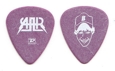 All American Rejects Mike Kennerty Caricature Purple Guitar Pick - 2006 Tour