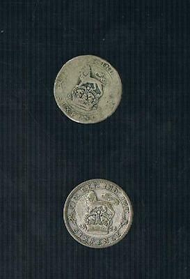 King George V Sixpence .925 Silver Choose Date
