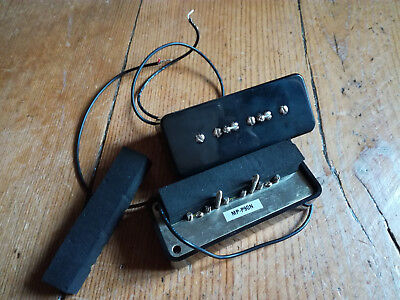 Micros P-90 Fender MP-P90 set neck+bridge pour Telecaster, Gibson Les Paul, SG