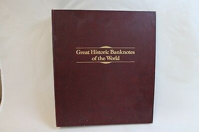 ~Great Historic Banknotes of the World in album (CC1717)
