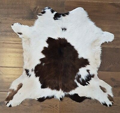 Exotic Cowhide Rug, Hair-On Fur Leather Natural Cow, Animal Skin, Peau vache