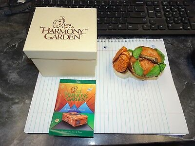 MIB Lord Byron's Harmony Garden Orange HG3OR Lidded Box 1999 W/Box & COA