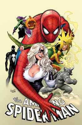 AMAZING SPIDERMAN 1 vol 5 2018 PARTY VARIANT BLACK CAT NM INTRO NEW VILLAIN