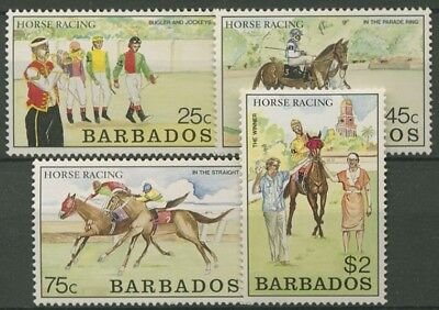 Barbados 1990 Galopprennen 753/56 postfrisch