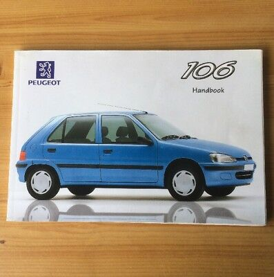 peugeot 106 owners manual drivers handbook xn xl xr xt xs gti 1996 rh picclick co uk peugeot 106 owners manual pdf peugeot 106 service manual