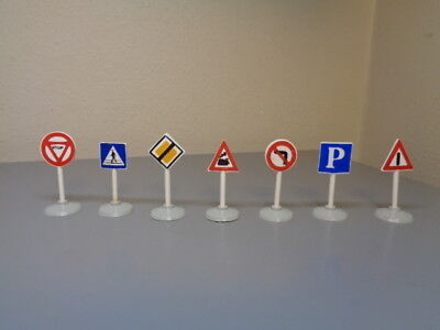 Lego Mursten Denmark Vintage 1950's Road Signs Collection Ho Very Rare Nmint
