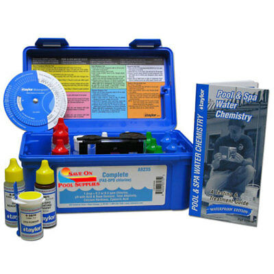 SOPS Complete FAS-DPD Commercial Swimming Pool Spa Test Kit By Taylor K-2006