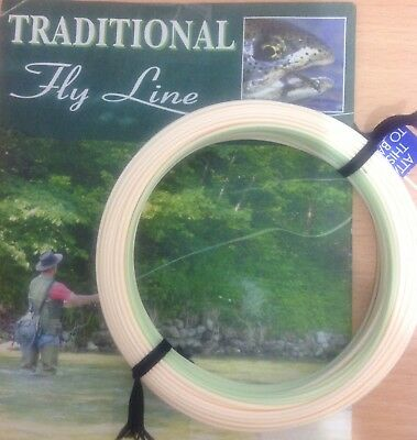 New Formulated Fly Lines For 2018 Wf Midge Tips Peach / Clear Green