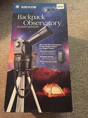 Meade Telescope Backpack Observatory