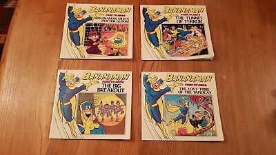 4 vintage DC Thompson 1984 bananaman books