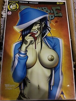 ZOMBIE TRAMP 47 BILL McKAY MEGACON RISQUE EXCLUSIVE VARIANT NM