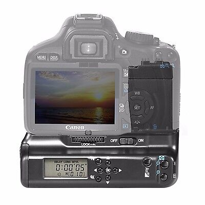 LCD Power Battery Grip for Canon EOS 550D T2i 600D T3i 650D T4i 700D T5i