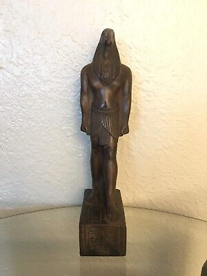 Ancient Egyptian God Thout Class A Statue (Made In Egypt) Color Brown